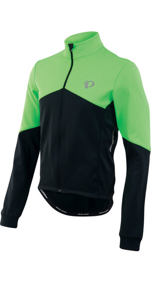PEARL iZUMi Elite Thermal LS Jersey Men Screaming Green/Black